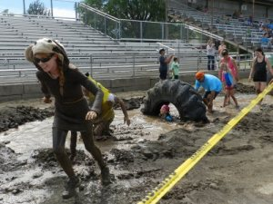 Getting down and dirty at the mud races