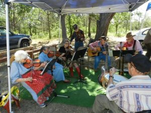 Old Time Music at Pioneer Day