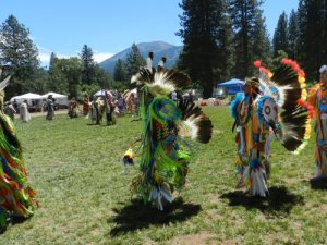 Sacred dancing in beautiful Burney