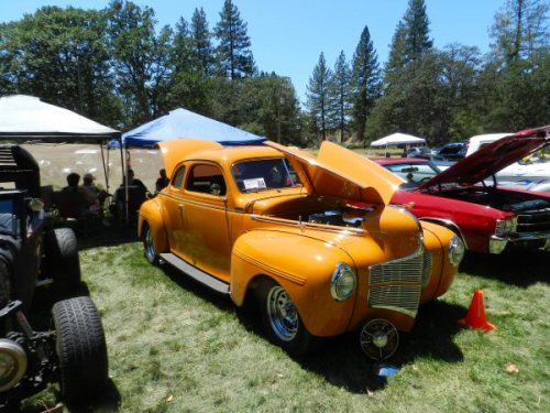 1940 Dodge Coupe was a winner