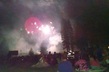 4th of July Fireworks at Burney High School