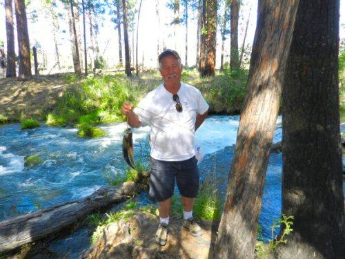 Harry from Sacramento caught three rainbow trout