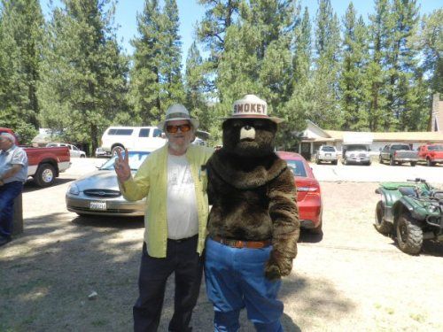 Smokey the Bear with Alex Colvin