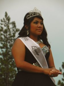 Crystal Flores 2015 Queen of Burney Basin Days