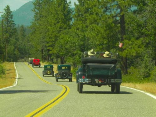 Following the Model A's
