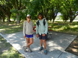 PCT hikers Sara bishop and Adam Kirby