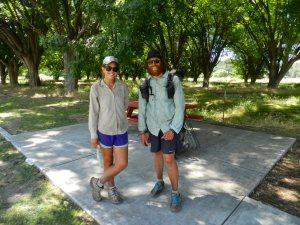 PCT hikers Sara bishop and Adam Kirby