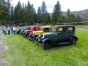 Quincy Model A Club stops by for the barbecue