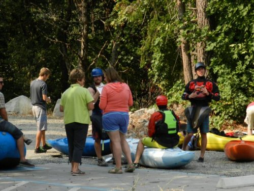Spring River monitors registering kayakers