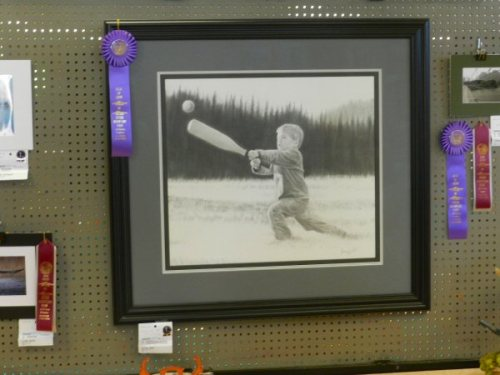Best of Show at the Inter-Mountain Fair Art Show by James Pell