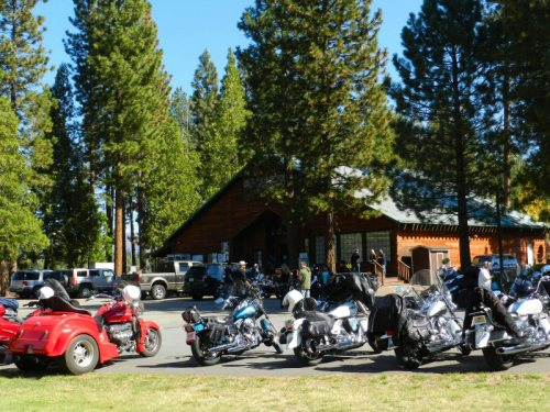 Bikers at the Rancheria