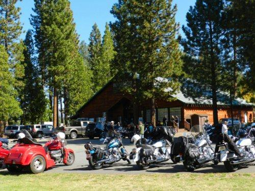 Bikers at the Rancheria