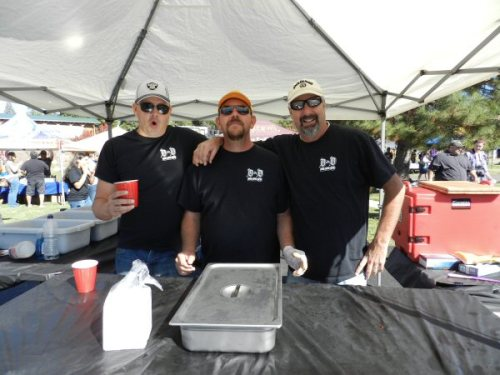 Dan, Dan, and Roger from D&D Barbecue