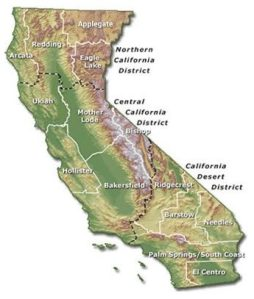 California BLM districts