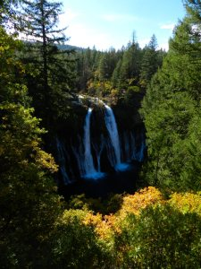 Burney Falls in Autumn (2)