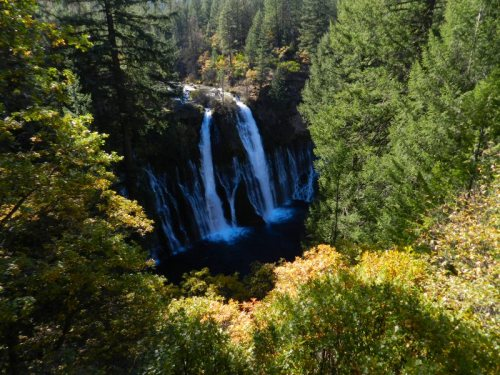 Burney Falls in Autumn