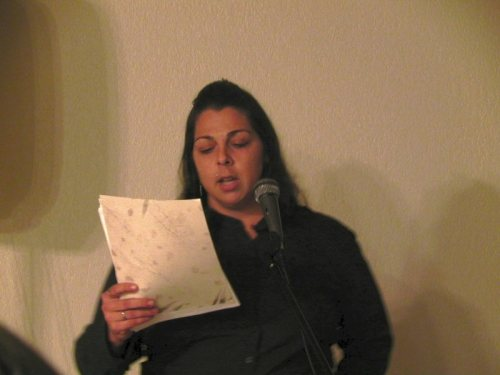 Chante Marie Catt shares her poetry