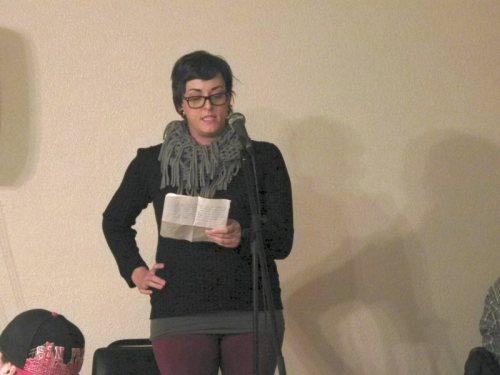 Christina Stampfli shares about poem