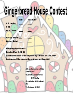 gingerbread entry