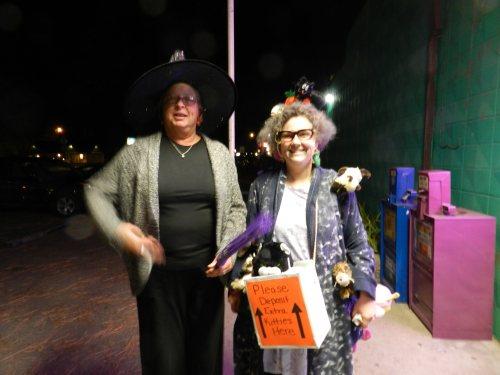 Kathy Lehman and Debbie Haskell