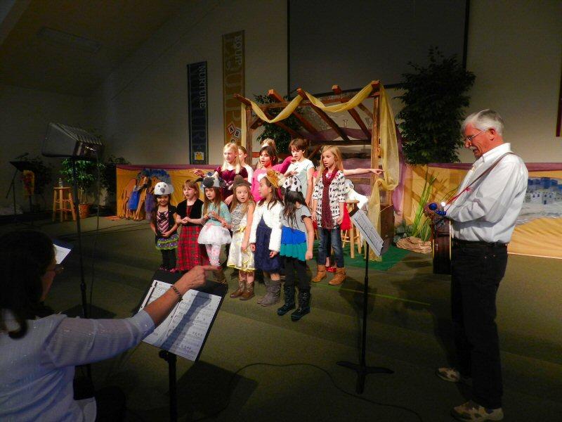 Pepper Choplin Christmas Cantata