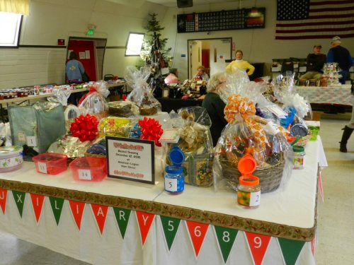 VFW Auxiliary Gift Baskets