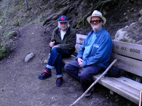Brief Break on the Trail