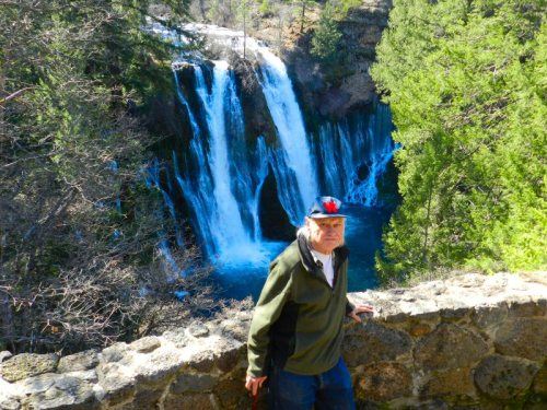 Grant Carrington at Burney Falls