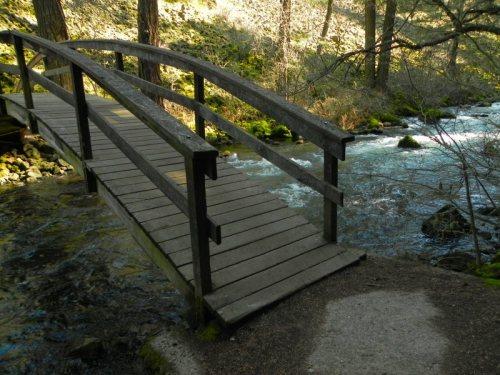 Lower Bridge on Burney Falls Loop
