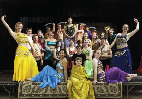 Burney High School Students to present the musical Aladdin