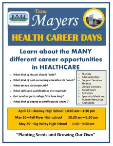 Health Career Days at Intermountain high schools