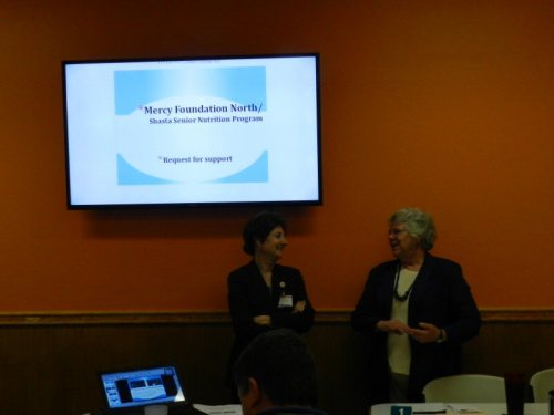 Michelle Martin Streeby with Chamber manager Anne Kerns