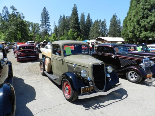 1935 Ford Pickup owned by Dave Rasmussen from Napa