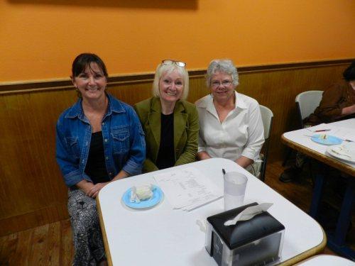 Jen Luck, Jill Barnett, and Anne Kerns