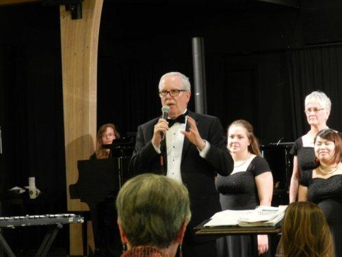 NOU Director of Choral Activities Ben Ayling