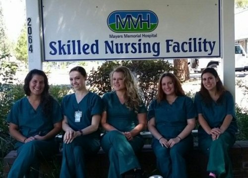 Recent May 2016 graduates of the MMHD Shasta College CNA program