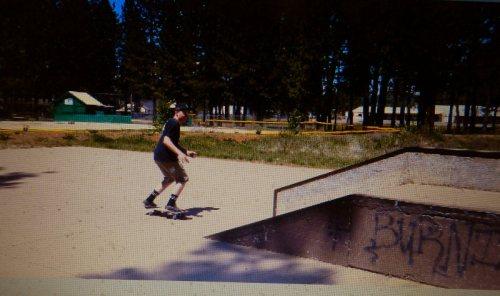 Ramp for skateboarding