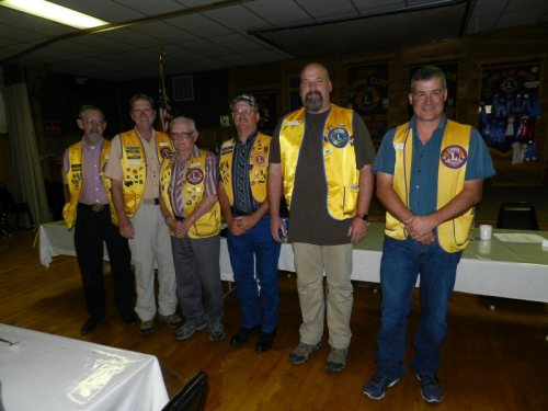 2016-2017 Burney Lions Club Officers