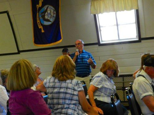 Fred Hawkins talks about schools