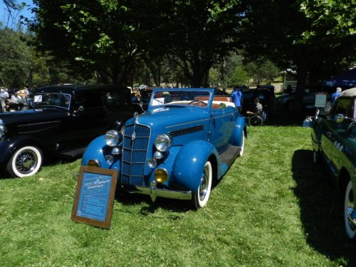 1935 Plymouth Larry and Catherine Berndt