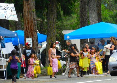 Children enjoyed the health fair