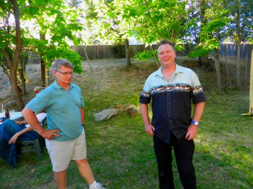 Loren Kemper and Doug Colosio