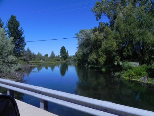 Rising River upstream