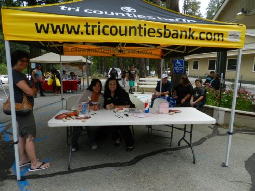 Tri-counties bank came to advise people about financial health