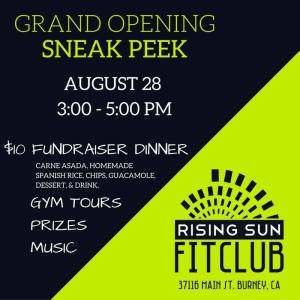 Grand Opening Sneak Peak