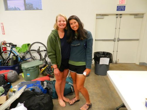 Lifelong friends from Maryland biking together cross country