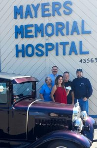 NorCal Road Gypsies present donation to Hospice