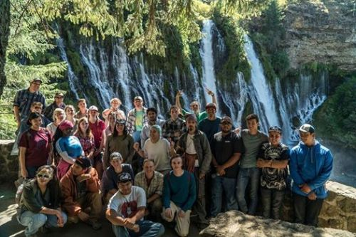 Tribal Youth Project at Burney Falls