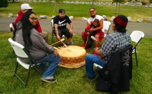 Pit River Drummers