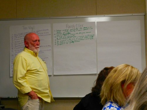 Board member Randy Oller describes his goals for the new year.